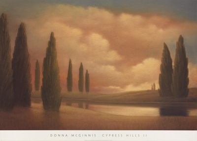 Cypress Hills II Poster by Donna Mcginnis for $50.00 CAD