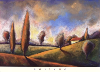 Tuscan Shadows II Poster by Rossano for $50.00 CAD