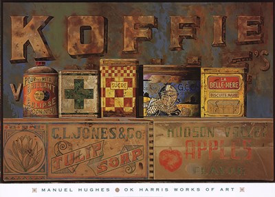Koffie Poster by Jeanne Hughes for $50.00 CAD