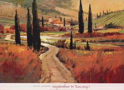 September In Tuscany I Poster by Sherly Jackson for $50.00 CAD