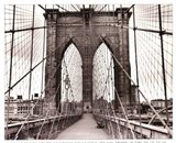 Brooklyn Bridge - sepia
