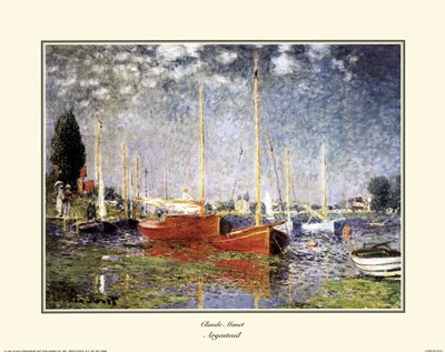 Argenteuil Poster by Claude Monet for $18.75 CAD