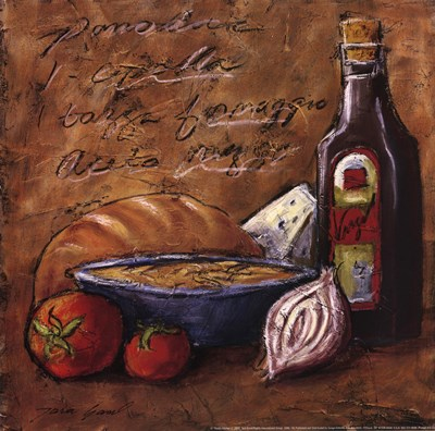 Rustic Kitchen II Poster by Tara Gamel for $13.75 CAD