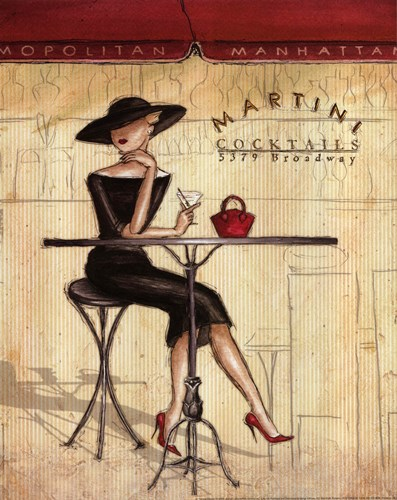 Femme Elegante III Poster by Andrea Laliberte for $13.75 CAD