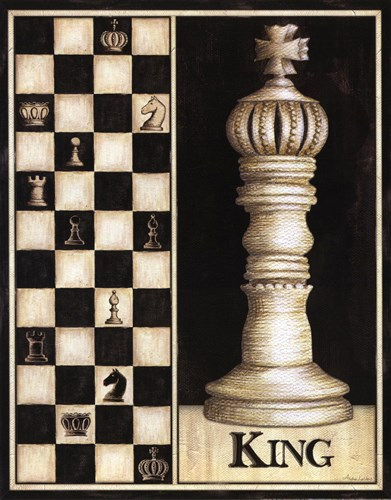Classic King - Mini Poster by Andrea Laliberte for $10.00 CAD