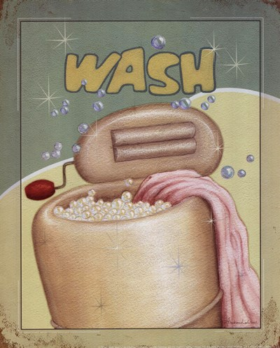 Wash Poster by Andrea Laliberte for $10.00 CAD