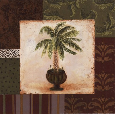 Potted Palm I Poster by Pamela Smith-Desgrosellier for $13.75 CAD
