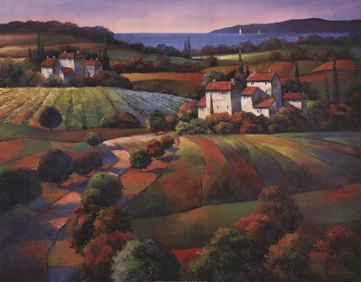 Tuscan Vista I Poster by T.C. Chiu for $31.25 CAD