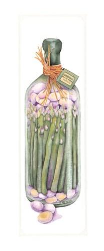 Asparagus Vinegar Poster by Sharon Medler for $16.25 CAD