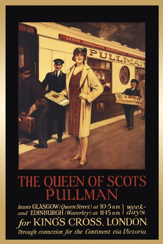 Vintage Travel - Queen Of Scots Poster by Unknown for $46.25 CAD
