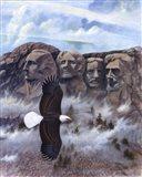 Eagle - Mount Rushmore