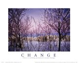 Change - Snowy Trees
