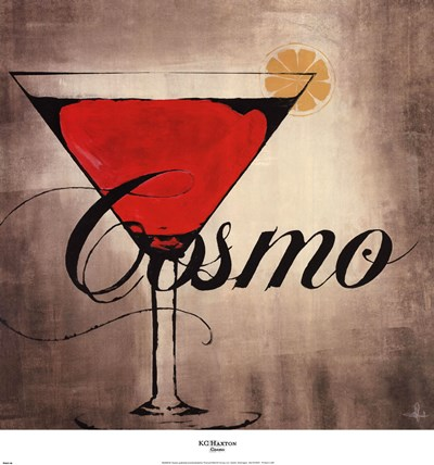 Cosmo Poster by KC Haxton for $30.00 CAD