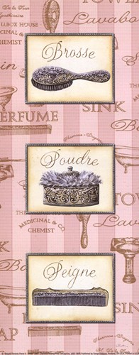 Beaut Fminine Panel II - petite Poster by Charlene Audrey for $10.00 CAD