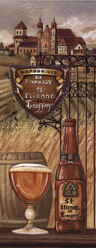 Belgium Beer Poster by Charlene Audrey for $15.00 CAD