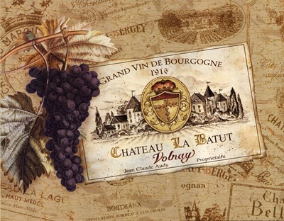 Chateau la Batut Poster by Pamela Gladding for $12.50 CAD