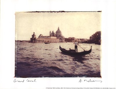 Grand Canal Poster by Amy Melious for $10.00 CAD