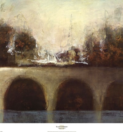 Foggy Bridge II Poster by Randy Hibberd for $45.00 CAD