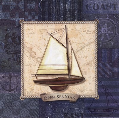 Sailing I Poster by Charlene Audrey for $12.50 CAD