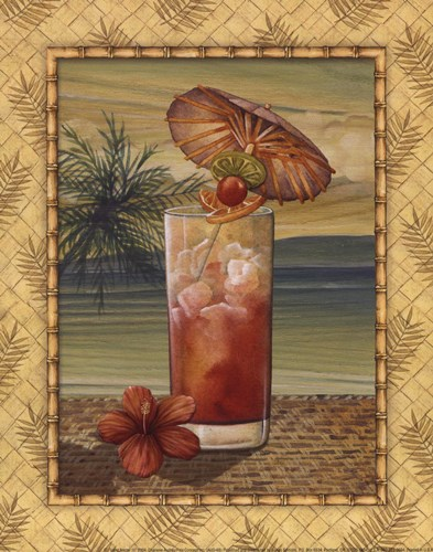 Island Nectar III Poster by Charlene Audrey for $10.00 CAD