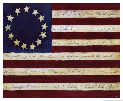 We The People Poster by Caitlin Dundon for $13.75 CAD