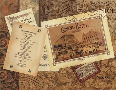 Grand Hotel London Poster by Pamela Gladding for $12.50 CAD