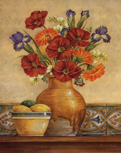 Salsa Poppies Poster by Pamela Gladding for $20.00 CAD