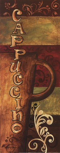 Cappuccino Poster by Gregory Gorham for $12.50 CAD
