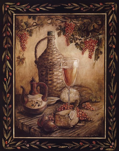 Tuscan Table - Orvieto Poster by Gregory Gorham for $20.00 CAD