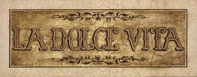 Dolce Poster by Gregory Gorham for $15.00 CAD