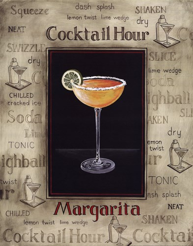 Margarita Poster by Gregory Gorham for $20.00 CAD
