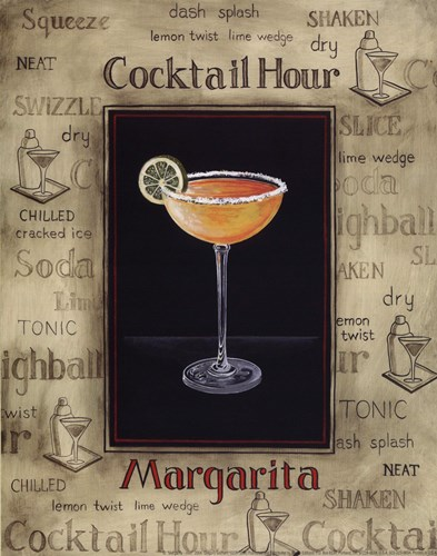 Margarita - Mini Poster by Gregory Gorham for $10.00 CAD