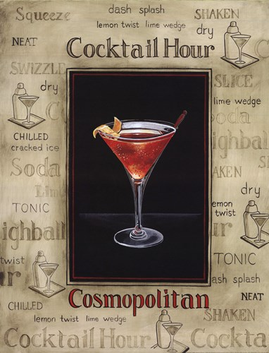 Cosmopolitan Poster by Gregory Gorham for $20.00 CAD