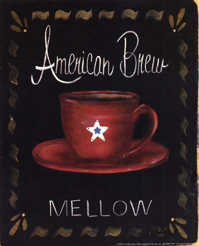 American Brew Poster by Grace Pullen for $10.00 CAD