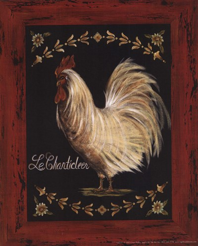 Le Chanticleer Poster by Grace Pullen for $10.00 CAD