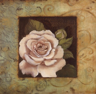 Antique Rose III Poster by Jillian Jeffrey for $12.50 CAD