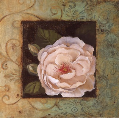 Antique Rose IV Poster by Jillian Jeffrey for $12.50 CAD