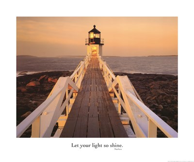 Let Your Light So Shine Poster by John Gavrilis for $26.25 CAD