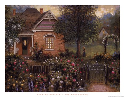 Evening Whisper Poster by Jon McNaughton for $33.75 CAD