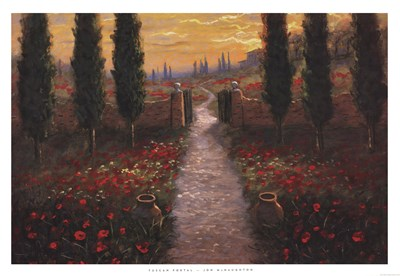 Tuscan Portal Poster by Jon McNaughton for $40.00 CAD