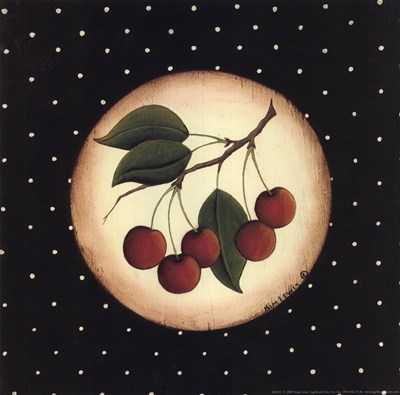 5 Cherries Poster by Kim Lewis for $11.25 CAD