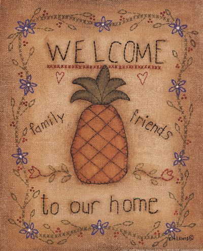 Pineapple Poster by Kim Lewis for $10.00 CAD