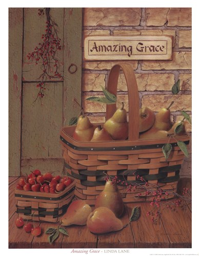 Amazing Grace Poster by Linda lane for $20.00 CAD