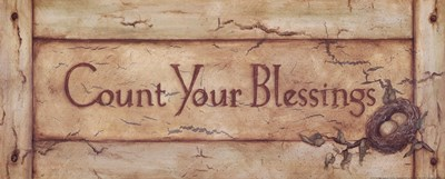 Count Your Blessings Poster by Stephanie Marrott for $16.25 CAD