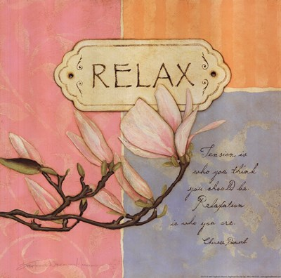 Relaxation Poster by Stephanie Marrott for $13.75 CAD