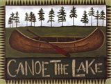 Canoe On The Lake