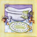 Yellow Bathroom - Tub