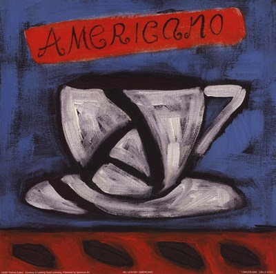 Americano Poster by Petrina Sutton for $10.00 CAD