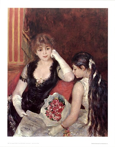 At The Concert Poster by Pierre-Auguste Renoir for $22.50 CAD