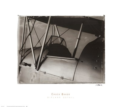 Biplane Detail Poster by Chuck Baker for $40.00 CAD